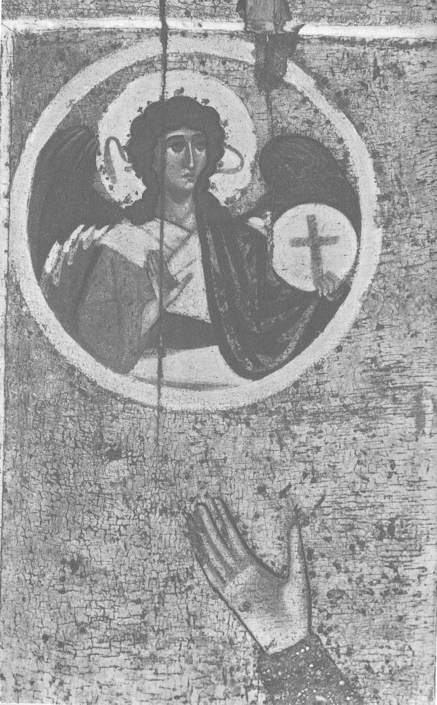 Архангель Гаврил. Деталь иконы