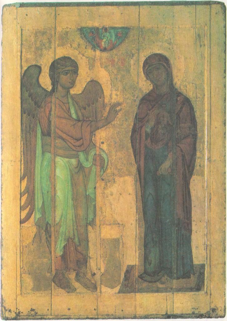 Благовещение Устюжское. 1220-е гг.
