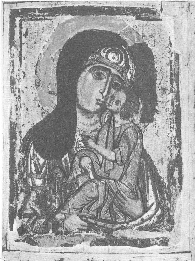 Богоматерь Умиление. 1220-е гг.