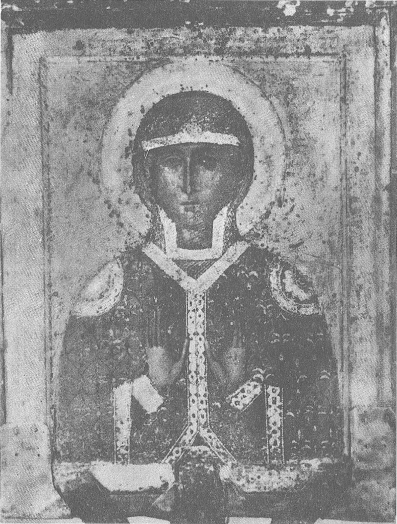 Святая Параскева. Изображение на обороте иконы