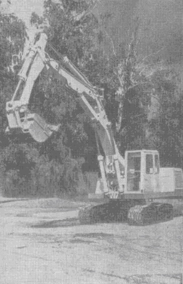 Гидравлический экскаватор ЭО-4121, предназначенный для производства земляных работ, разработки карьеров рытья котлованов, траншей, каналов,а также для погрузки грунта