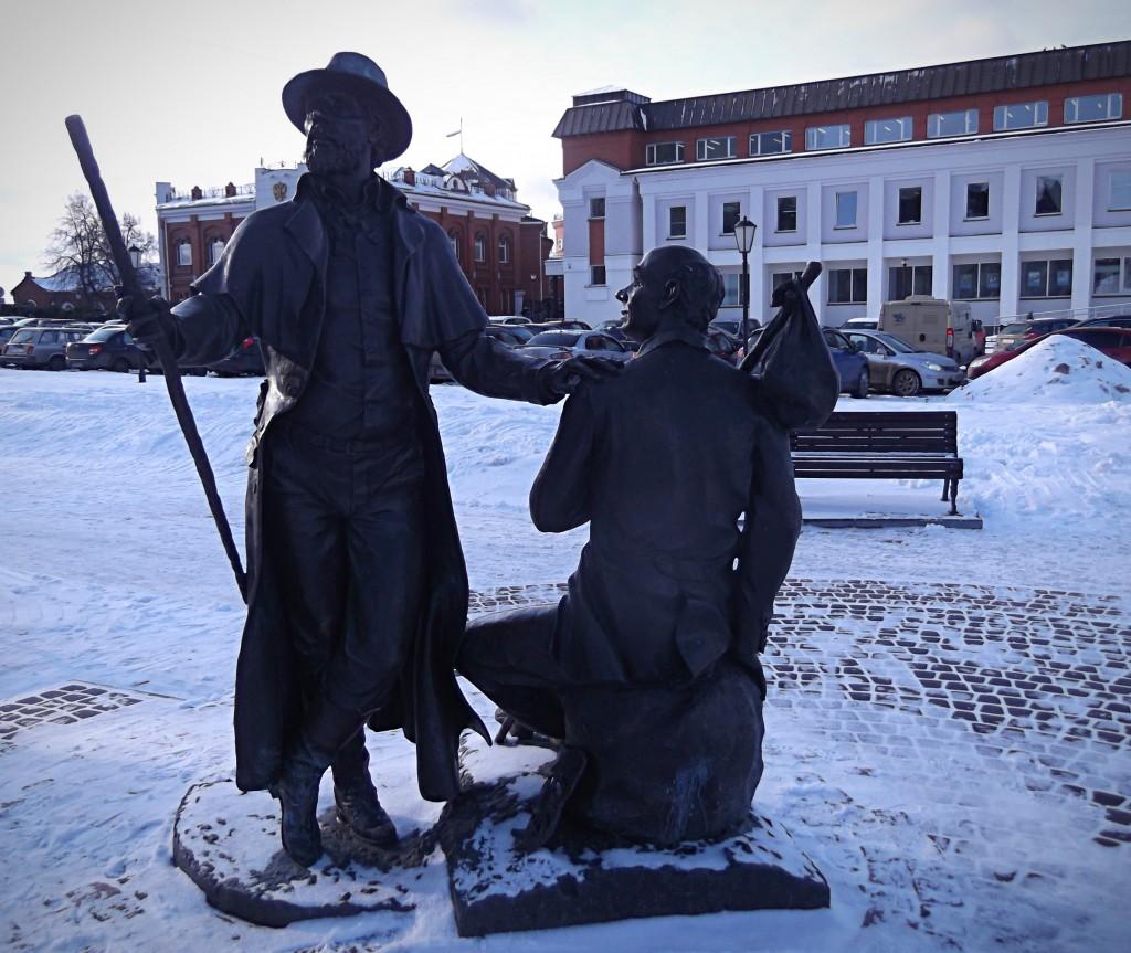 Памятник провинциальным актёрам, г. Владимир 01