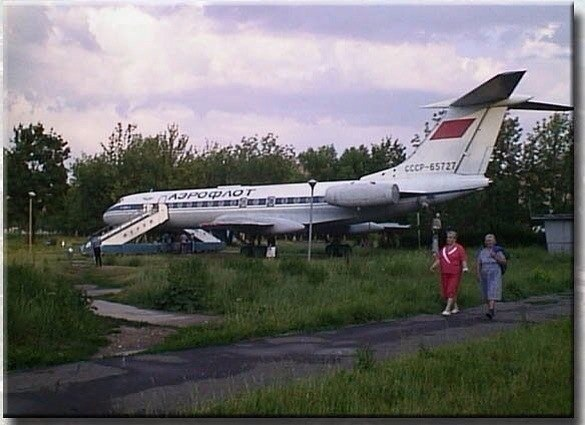 Самолет в Муроме
