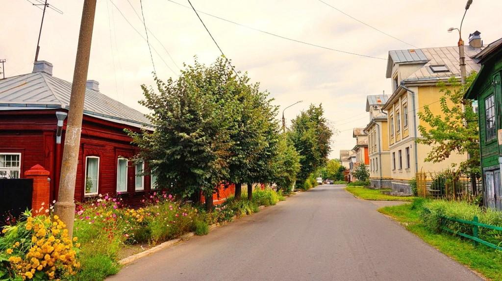 Улица Воровского во Владимире