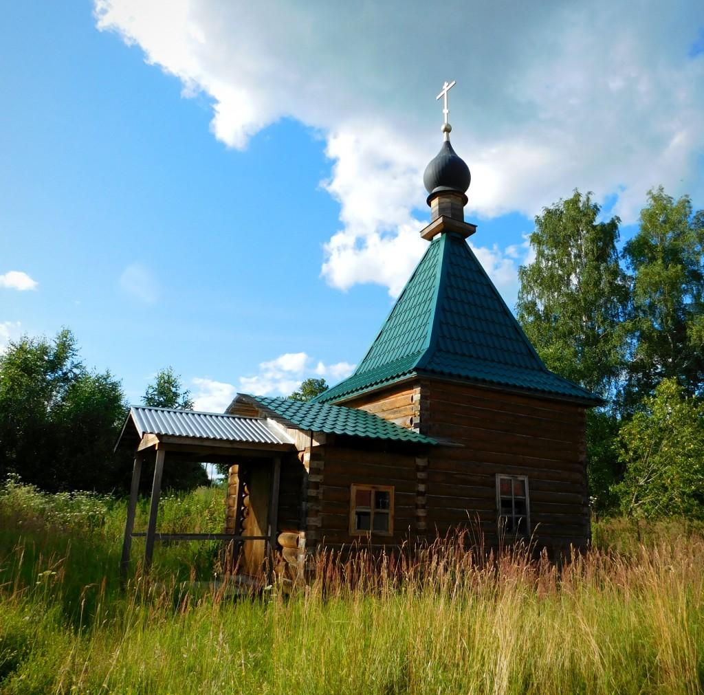 Осовец - древняя русская крепость на берегу Клязьмы, Собинский район 02