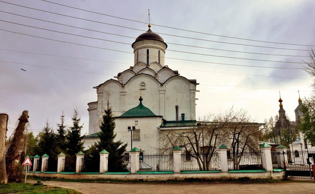 Фрески и роспись Княгинина монастыря во Владимире 01