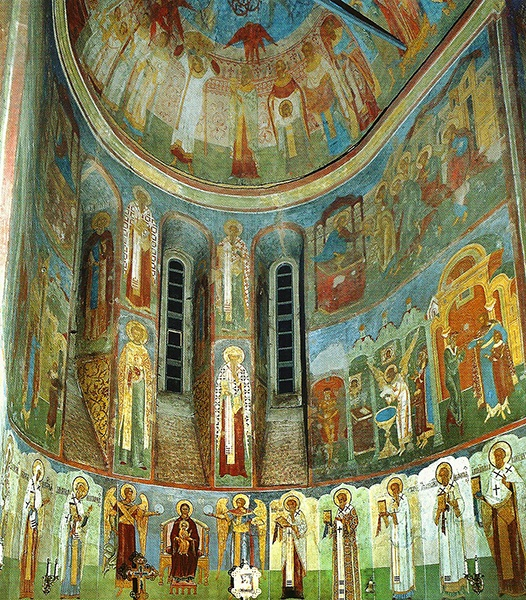 Фрески и роспись Княгинина монастыря во Владимире 05