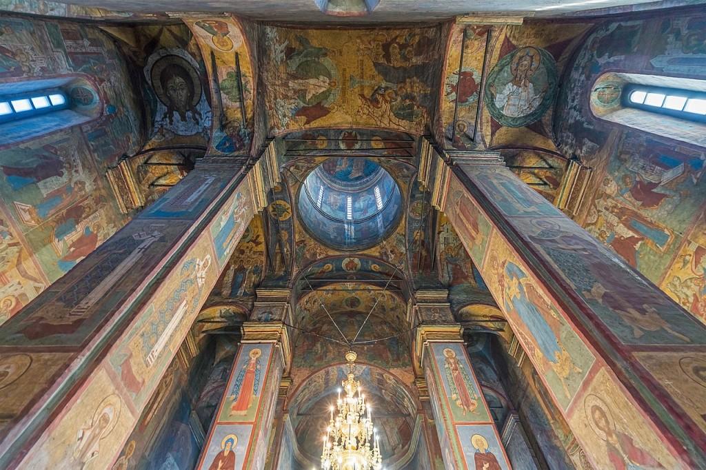 Фрески и роспись Княгинина монастыря во Владимире 06