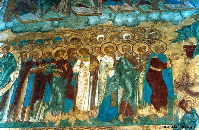 Фрески и роспись Княгинина монастыря во Владимире 07