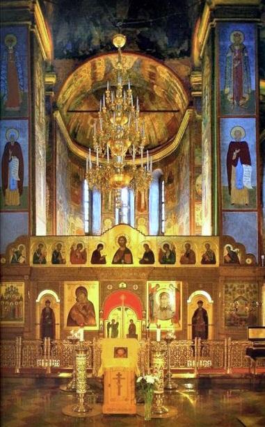 Фрески и роспись Княгинина монастыря во Владимире 08
