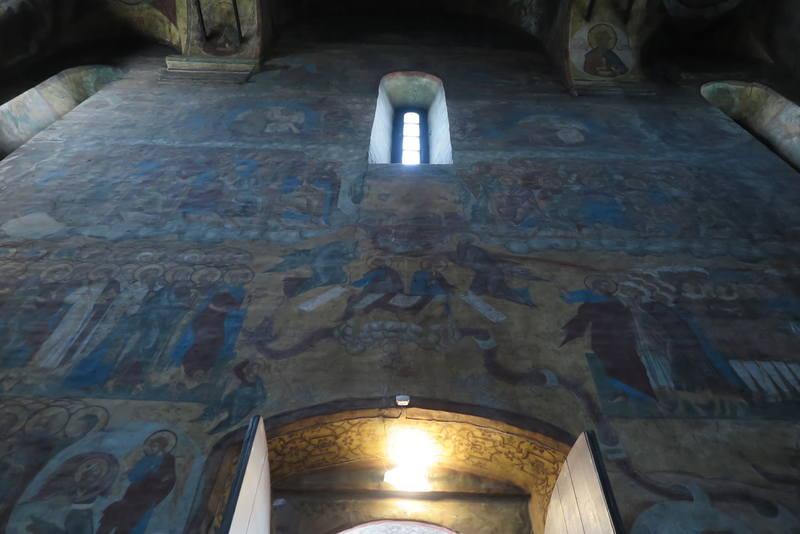 Фрески и роспись Княгинина монастыря во Владимире 09