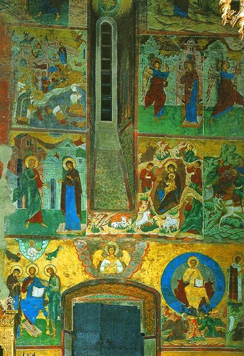 Фрески и роспись Княгинина монастыря во Владимире 10