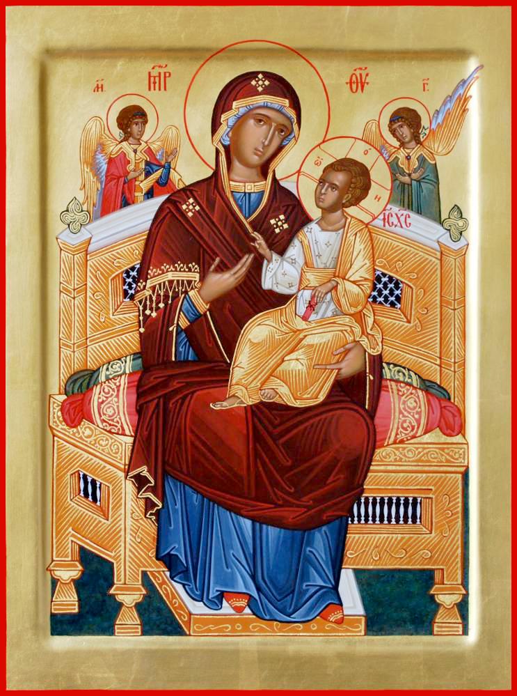 В чем сила Иконы Богородицы Всецарицы (Пантанасса)