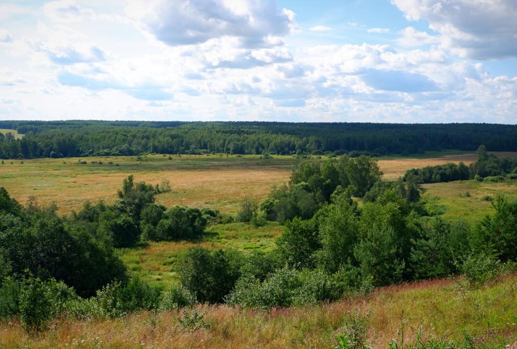 Село Глухово - место, где облака уплывают за горизонт. Собинский район 02
