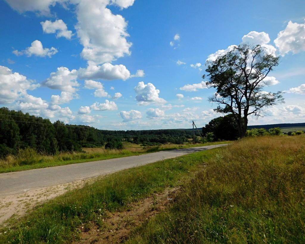 Село Глухово - место, где облака уплывают за горизонт. Собинский район 03