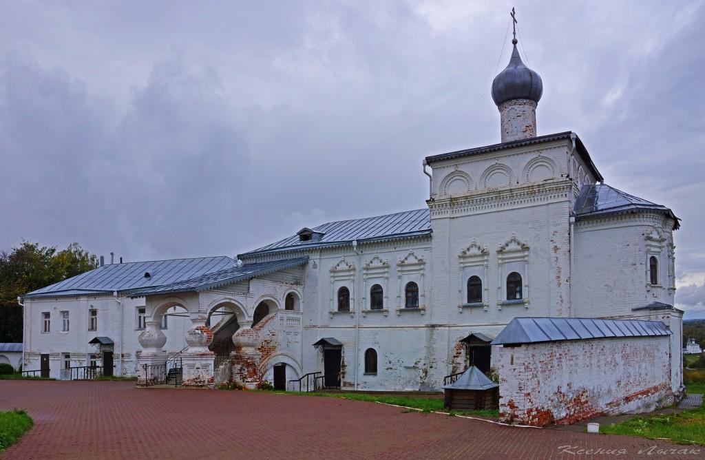Гороховец. Церковь Иоанна Лествичника и часовни Никольского монастыря 01