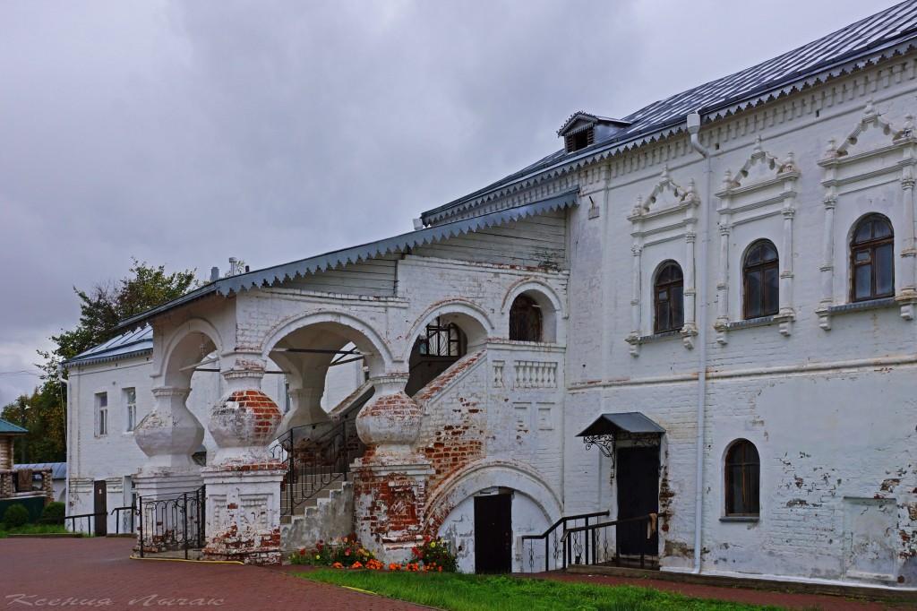 Гороховец. Церковь Иоанна Лествичника и часовни Никольского монастыря 02