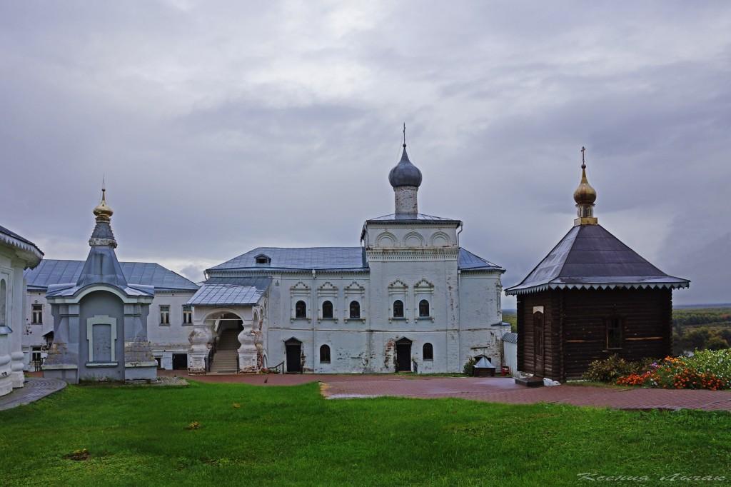 Гороховец. Церковь Иоанна Лествичника и часовни Никольского монастыря 03