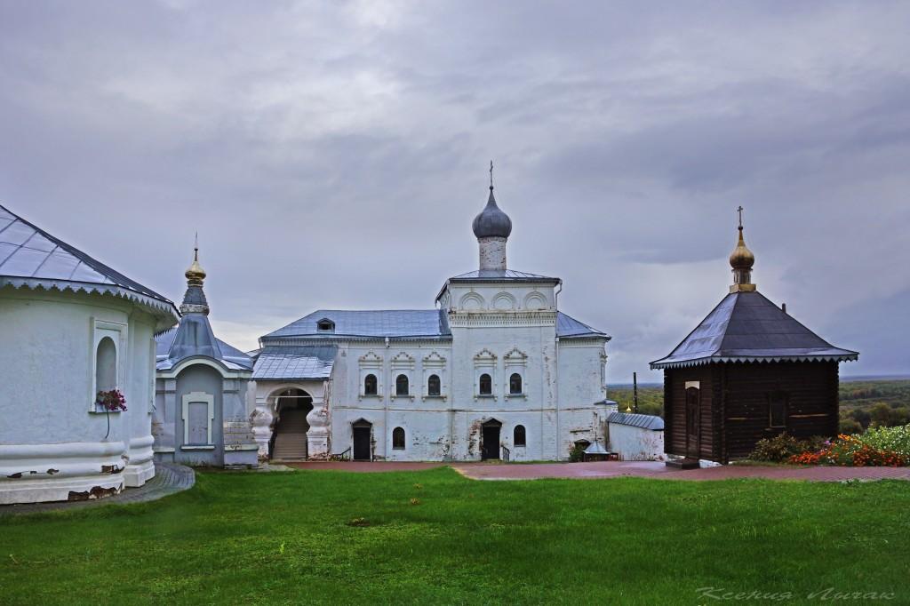 Гороховец. Церковь Иоанна Лествичника и часовни Никольского монастыря 04