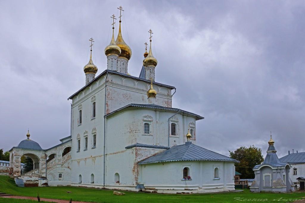 Достопримечательности Гороховца Никольский монастырь 01