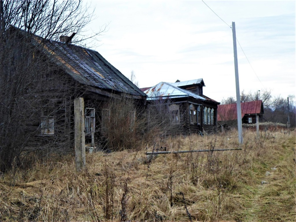 Заброшенная деревня Осташево - деревня в Гусь-Хрустальном районе Владимирской области 01