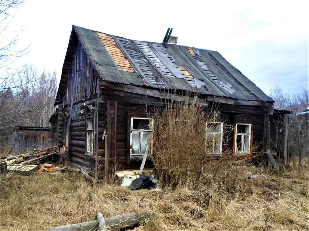 Заброшенная деревня Осташево - деревня в Гусь-Хрустальном районе Владимирской области 03