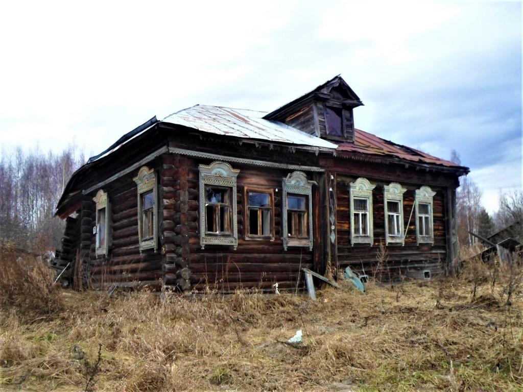Заброшенная деревня Осташево - деревня в Гусь-Хрустальном районе Владимирской области 04