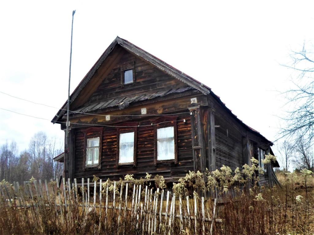 Заброшенная деревня Осташево - деревня в Гусь-Хрустальном районе Владимирской области 05