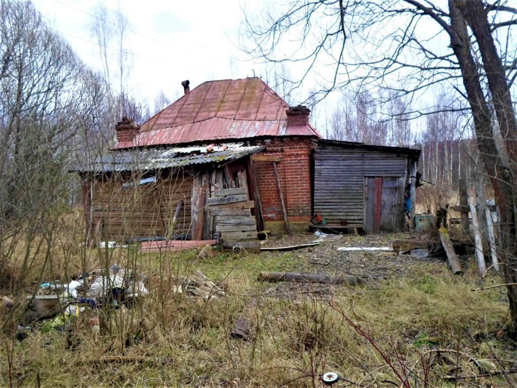 Заброшенная деревня Осташево - деревня в Гусь-Хрустальном районе Владимирской области 06