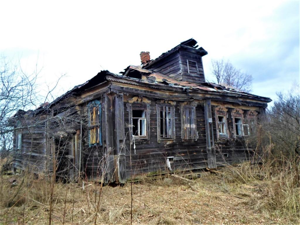 Заброшенная деревня Осташево - деревня в Гусь-Хрустальном районе Владимирской области 07