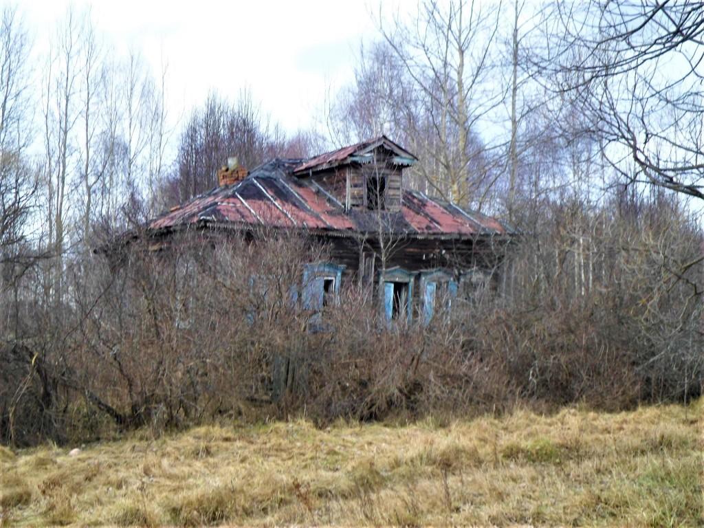 Заброшенная деревня Осташево - деревня в Гусь-Хрустальном районе Владимирской области 08