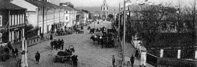 Улицы и районы старого города Владимира